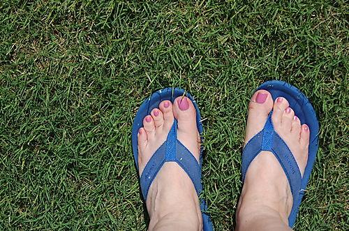 Blue feet