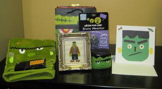 Halloween Swap Pic Jen's Frankenstein