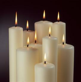 Marklin Altar Candles