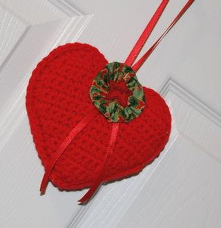 Crocheted Heart 3