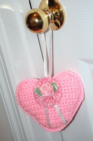 Crocheted Heart 2