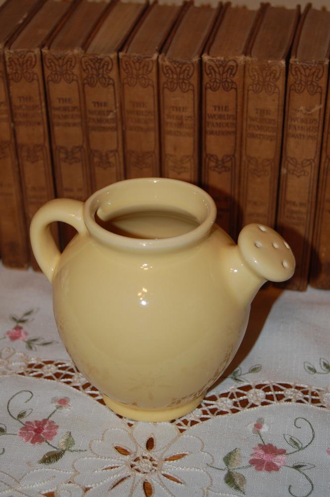 Yellow pitchers
