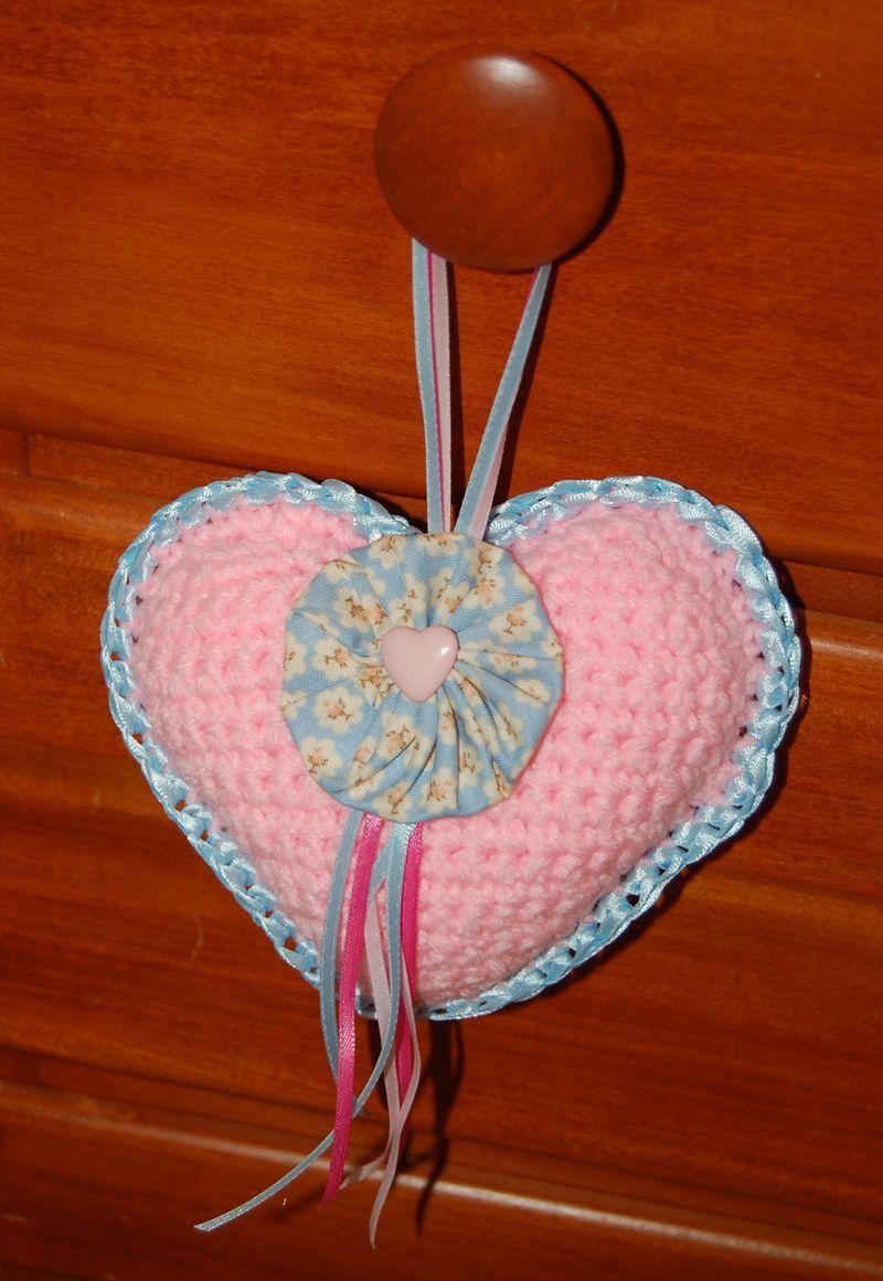 May crochet heart