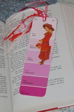 Bookmarker Pink