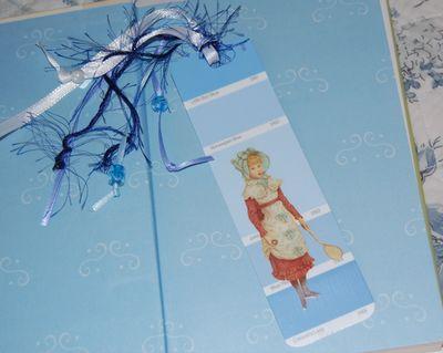 Bookmark blue