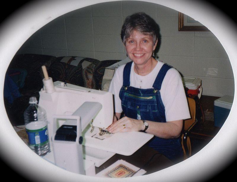 Susan at workshop