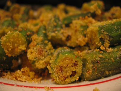 Fried-okra