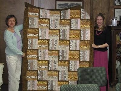 Ramey, Irene, Mary's quilt
