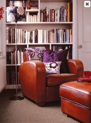 Library_reading_nook_leather_chair_carpet