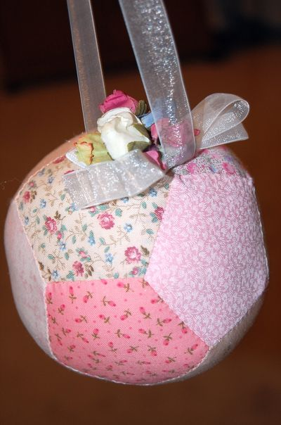 Pink Puzzle Ball