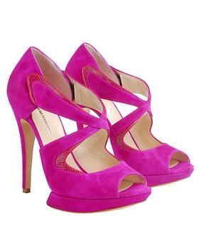 Розовые туфли из последней коллекции Стеллы Маккартни,которые все
