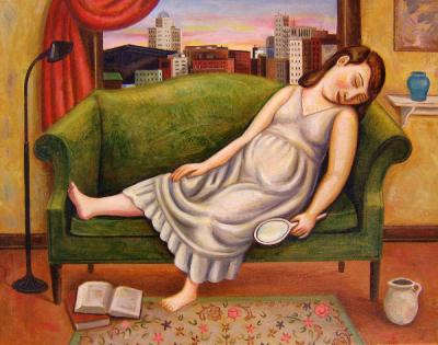 Girl-sleeping-before-open-window