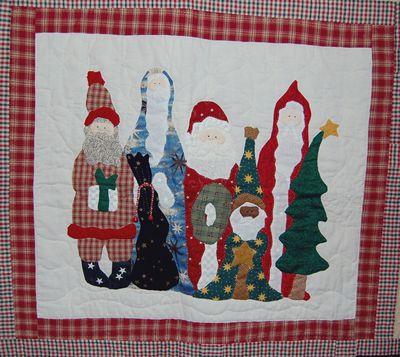 Sew Many Santas