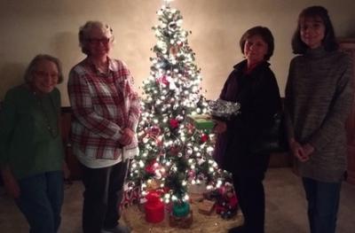 Photo in Around the tree Christmas 2017 - Google Photos