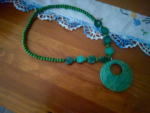 Green necklace - 1