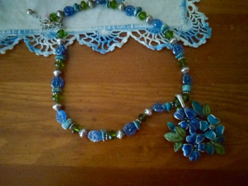 Flower Necklace 2 - 1