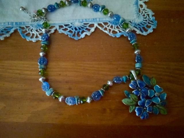 Flower Necklace 2 - 1